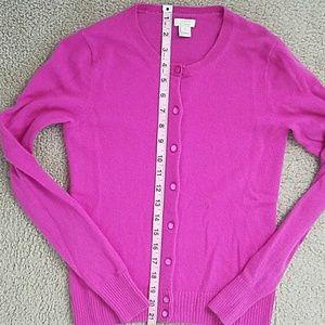Jcrew cashmere S pink